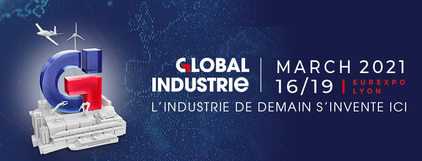 Global Industrie Lyon 2021 Banner