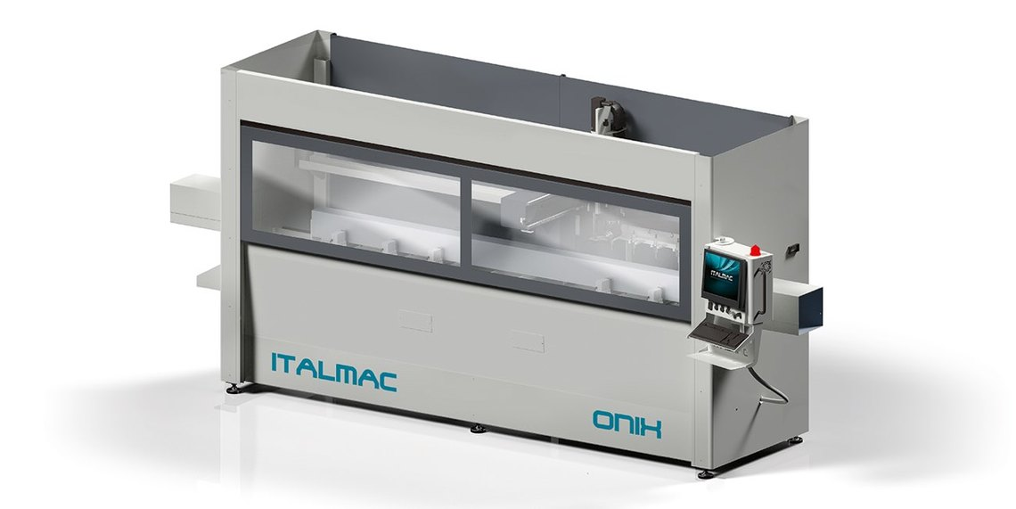 PRO DIS centre usinage aluminium 3 axes ONIX ITALMAC