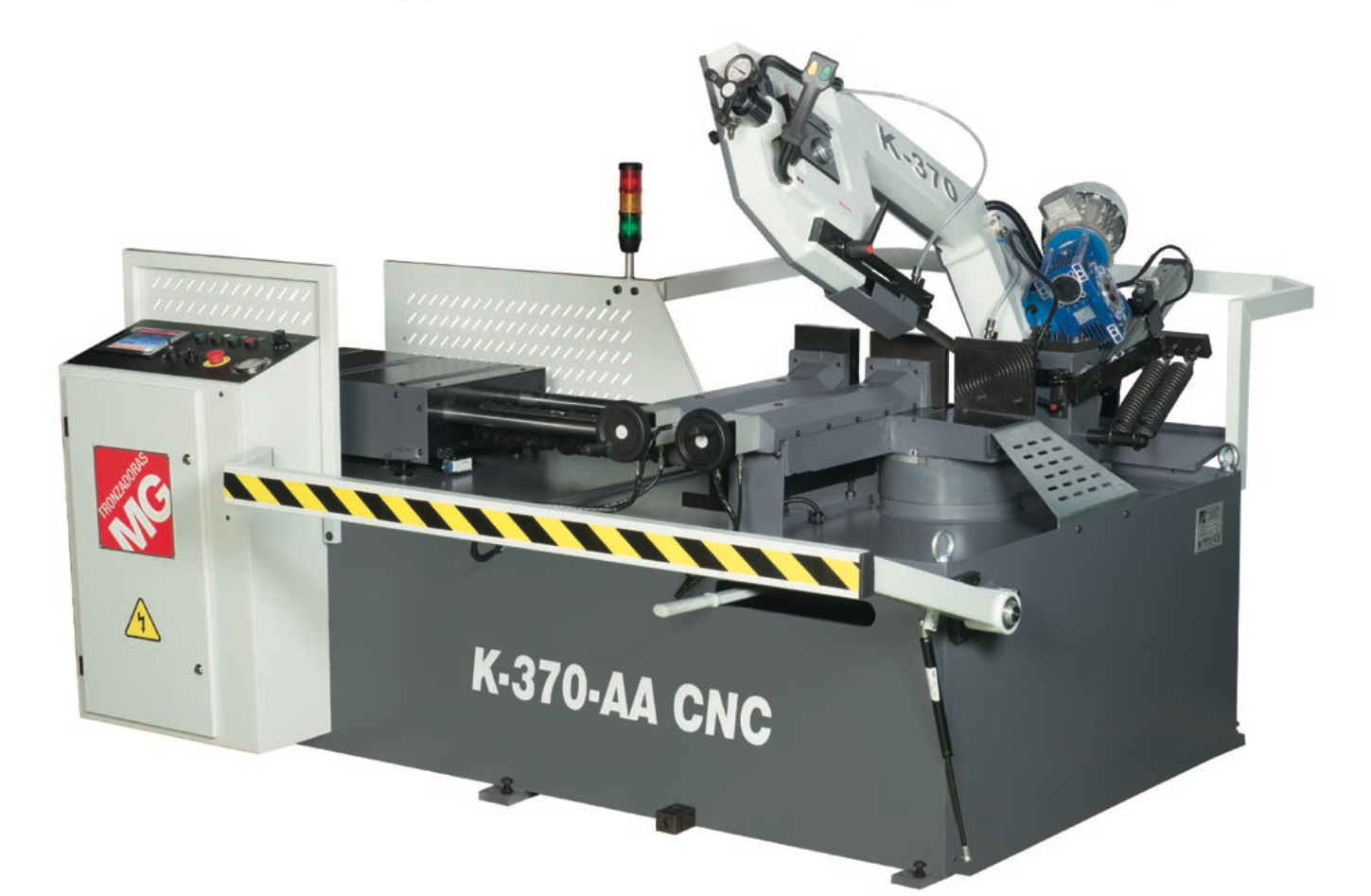 Scie a ruban avec amenage automatique K 370 AA CNC MG Tronzadoras