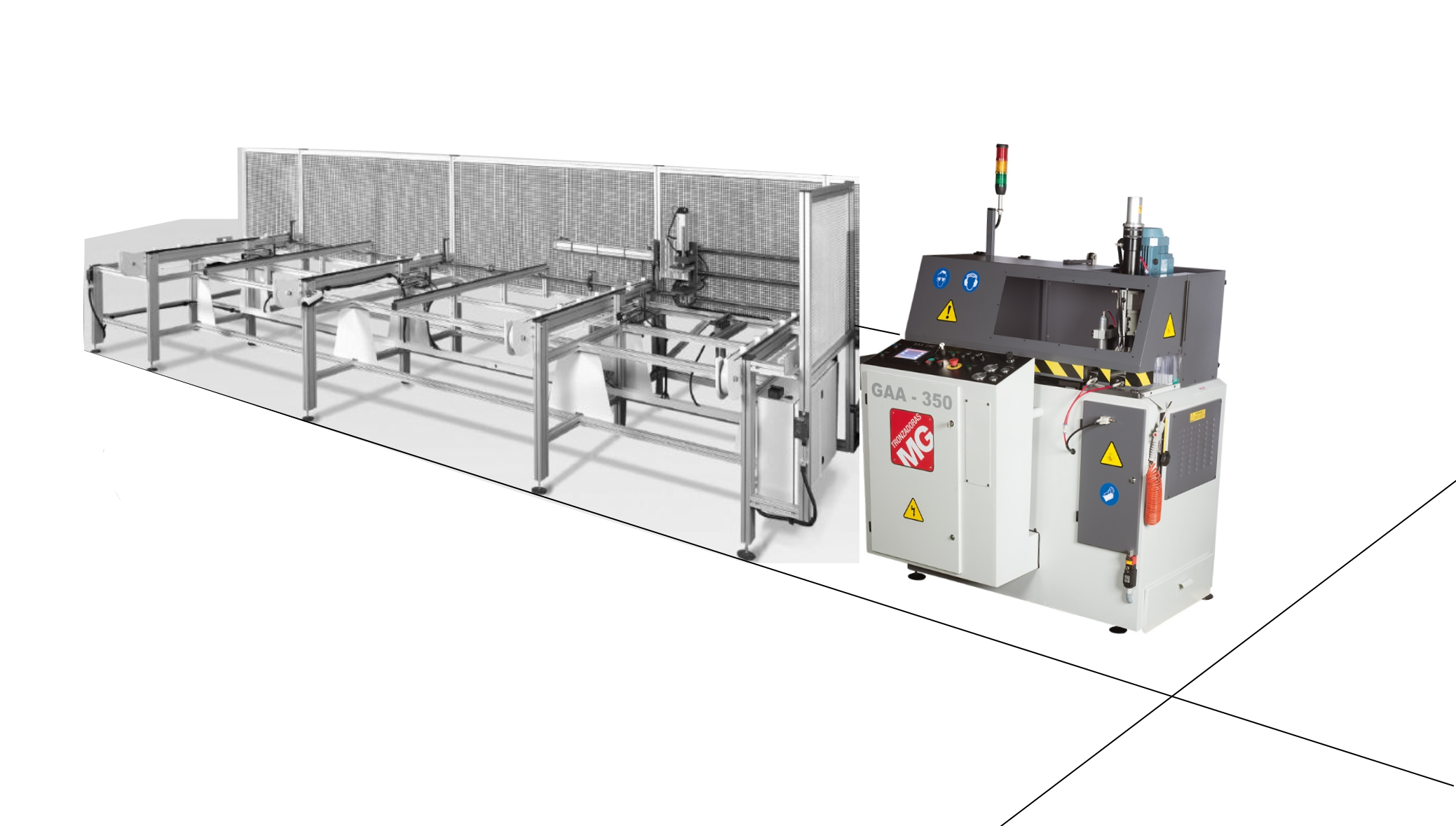 PROFILE MAGAZINE FEEDING GAA CNC
